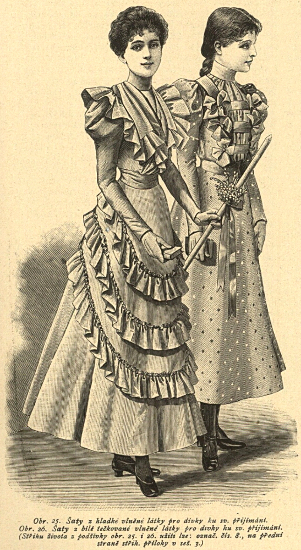 Stroje do 1. komuni,, 1897   1st Communion dresses, 1897